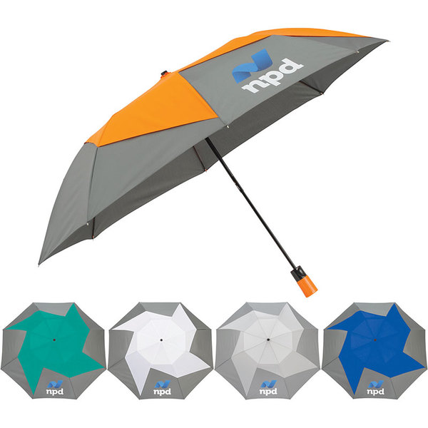 Pinwheel umbrella.