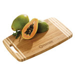 Moda striped cutting board.