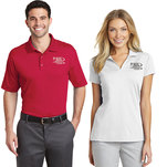 Rapid dry performance polo.
