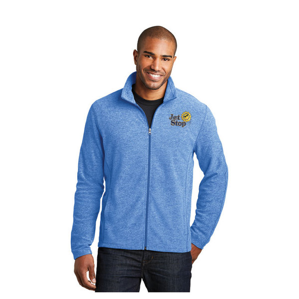 Full zip fleece jacket light royal.