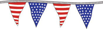 More about the 'Americana Pennant - 100'' product