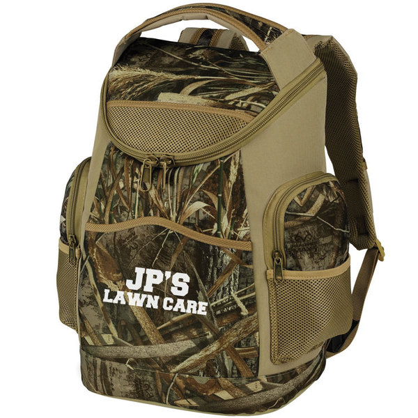 Ultimate camo backpack cooler.