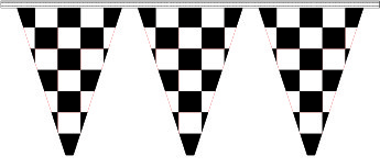 Checkered Pennant - 60'