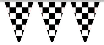 More about the 'Checkered Pennant - 100'' product