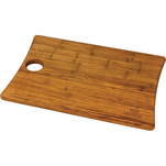 Bamboo cutting board.