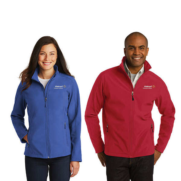 Core soft shell jacket.