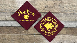 Panther class of 2019 sweatshirt blankets.