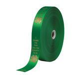 1 and 5/8 inch ribbon on a roll.