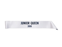 Style 4 child sash white.