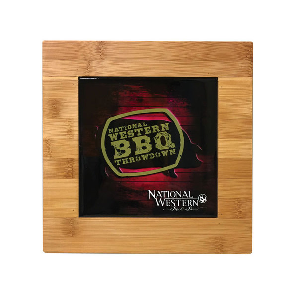 Sublimated tile cutting board.