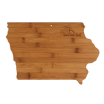 State bamboo cutting board Iowa.