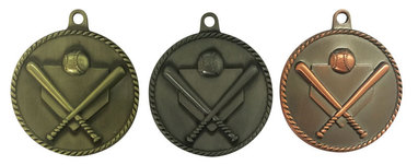 High relief medals.